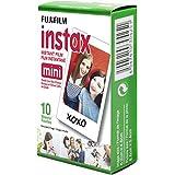 Fujifilm Instax Mini Film, White Single Pack (10 Exposures)