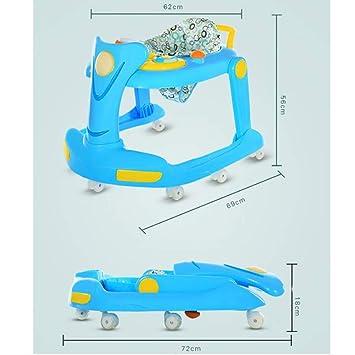 Amazon.com: Andador plegable para bebé, 2 en 1, actividad ...