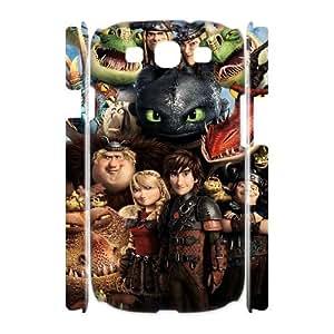 LSQDIY(R) toothless dragon Samsung Galaxy S3 I9300 3D Case Cover, Customized Samsung Galaxy S3 I9300 3D Cover Case toothless dragon