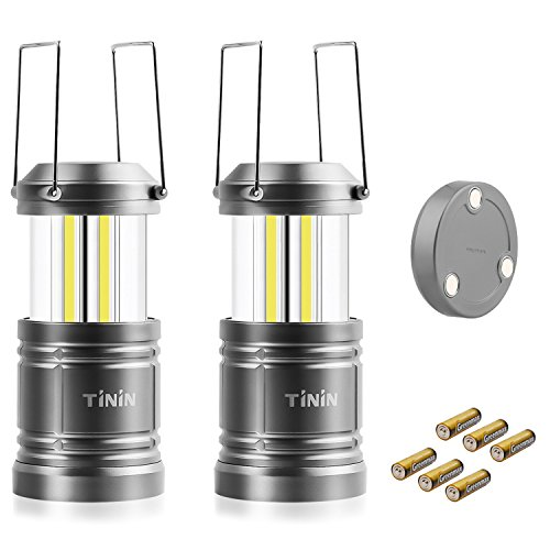 Camping Lantern,Tinin 2 Pack LED Lantern Flashl...