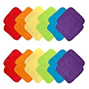 Neat Solutions 24 Piece Washcloth Set, Solid Bright