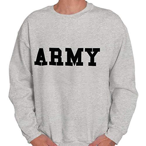Army Crewneck Sweatshirt - Military Army Patriot America United States Crewneck Sweatshirt