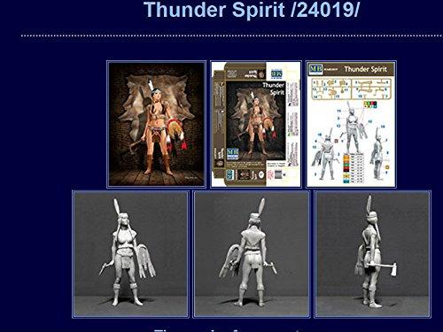 NEW PIN-UP SERIE THUNDER SPIRIT 1//24 MASTER BOX 24019