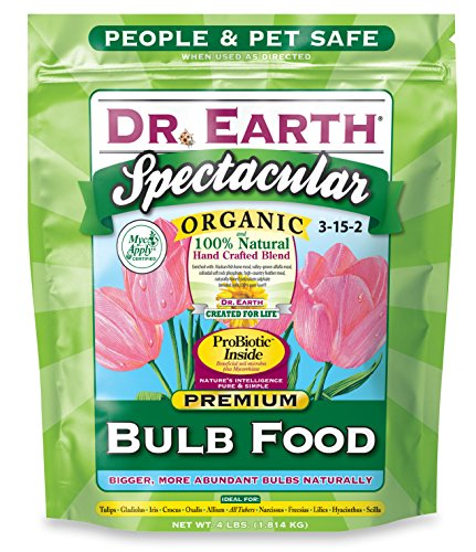 Dr. Earth 700P Organic 1 Bulb Fertilizer in Poly Bag, 4-Pound