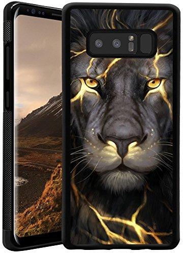 Samsung Galaxy Note 8 Phone Case, Custom Personality Lion Pattern TPU Case