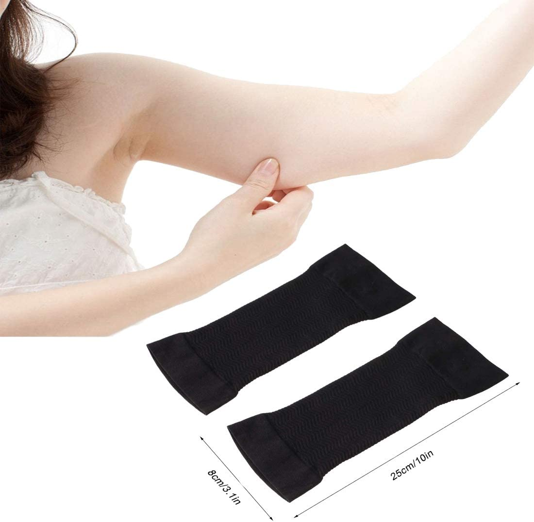 6 Pair Arm Compression Sleeve Women Weight Loss Upper Arm Shaper