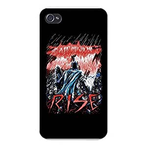 "Apple iPhone Custom Case 5 5s White Plastic Snap On - ""Rise by icecream design"