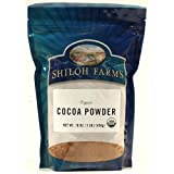 Organic Cocoa Powder - 6 x 16 Oz -  For The Gourmet
