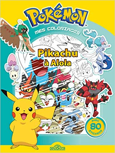 Amazon In Buy Mes Coloriages Pokemon Pikachu A Alola Book