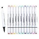 Permanent Dual Tip Brush Marker Pen - Art