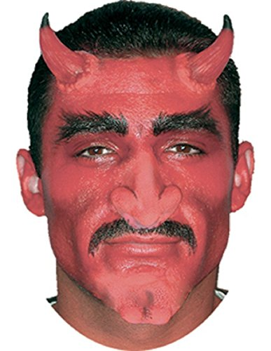 Woochie Classic Latex Horns - Professional Quality Halloween Costume Makeup - Devil - -