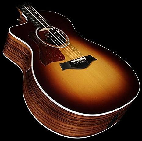 Taylor 214 ce Deluxe Grand Auditorium Guitarra Electroacústica con ...