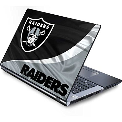 Skinit Protective Skin (fits Latest Generic 15-Inch Laptop/Netbook/Notebook); NFL Oakland Raiders - Raiders Nfl Applique