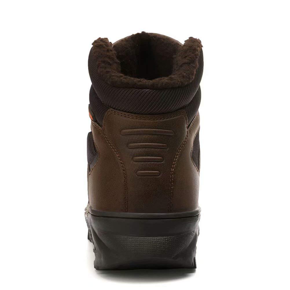 Bottes de Neige Homme Snow Boots Hiver Bottes de Randonn/ée Impermeable Trekking Chaudes Chaussures