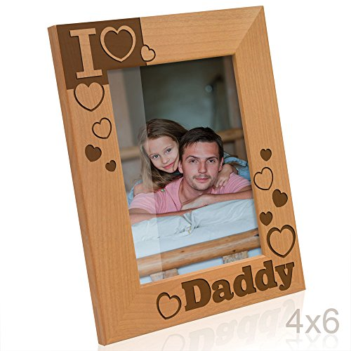 Kate Posh - I Love Daddy Picture Frame (4x6 Vertical)]()