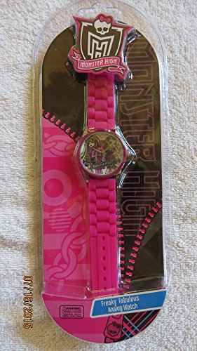 Monster High Strap Watch - Pink