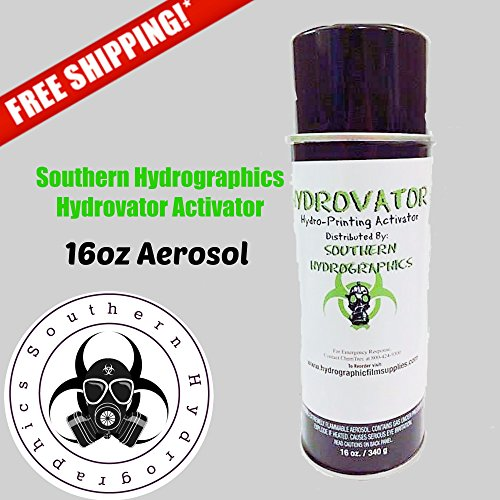 Hydrographic Film - Water Transfer Printing - Hydro Dipping 16 oz. Aerosol Activator