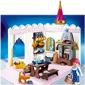 Playmobil - 4251 - Le Château de Princesse - Cuisinière / Cuisine de ...