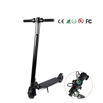 ZTXY Scooter eléctrico batería de Litio Plegable Bicicleta ...