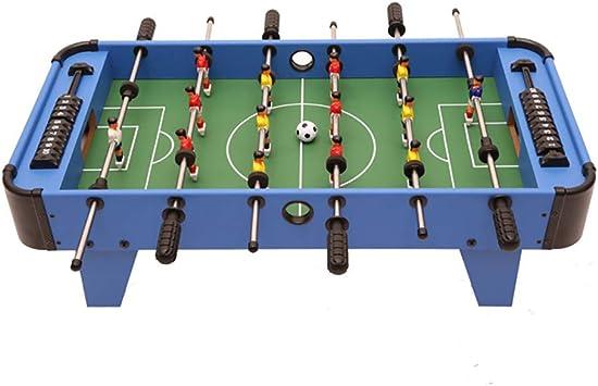 WHTBOX Futbol de Mesa/FutbolíN para,Adecuado Personas Mayores de 3 AñOs, Juego De Mesa,FúTbolista,Deporte,Soccer,Football, BalóN Robusto,Resistente,FúTbol,Blue: Amazon.es: Jardín