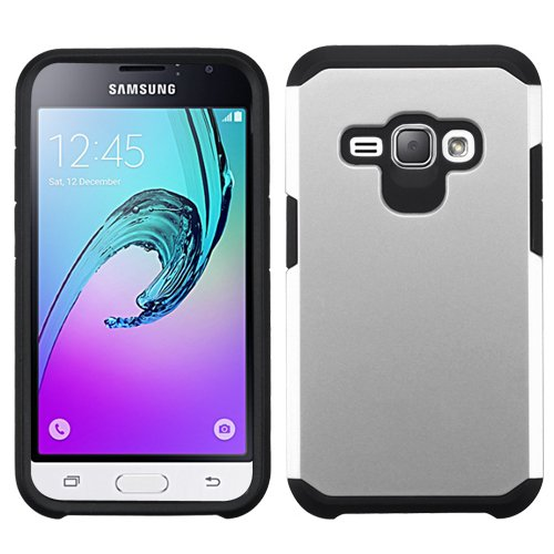 pretty nice ba68c dd178 Samsung Galaxy Express 3 (AT&T) Case, BornTech Dual Layer Shockproof Armor  Protector Cover Case, Accessory For Samsung Galaxy J1 (2016) / Samsung ...
