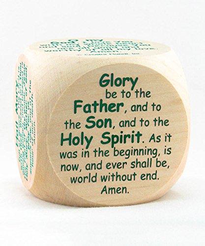 Catholic Prayer Cube (Catholic Prayer Die) for Children