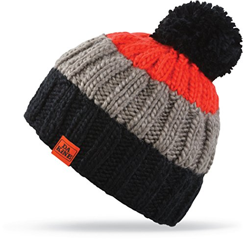 Dakine Farley Beanie, black/ Cherry Tomato, One - Beanie Cherry Black