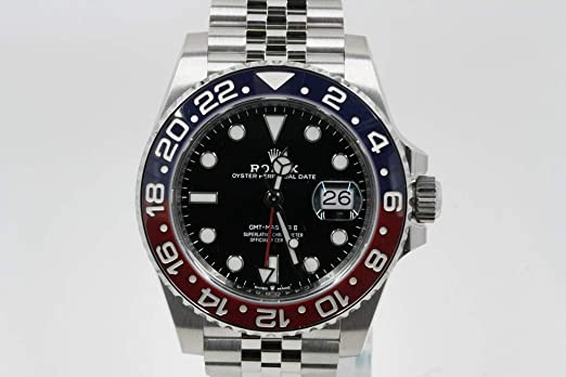 Amazon.com Rolex GMT Master II Stainless Steel Jubilee Band