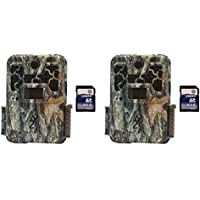 Browning Trail Cameras Recon Force Platinum 10MP Game Camera, 2 Pack + SD Cards