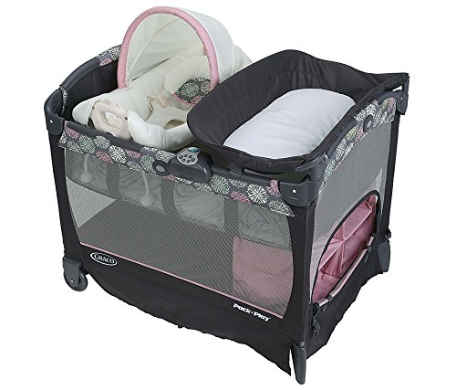 Graco Pack Cuddle Playard Addison product image