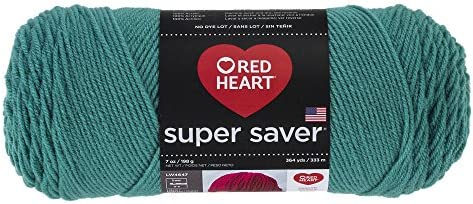 Jade Red Heart 385953 Super Saver Yarn