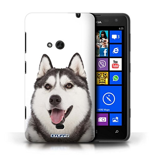 Case für Nokia Lumia 625 / Husky/Heiser Entwurf / Hund/Hunde Collection
