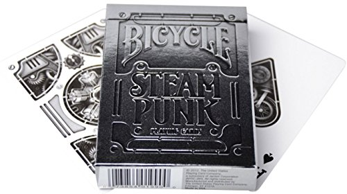 Bicycle Steampunk Silver Edition 4