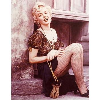 Amazon.com: Marilyn Monroe Photo Fishnet Stockings Pinup ...