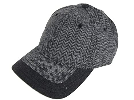 97c7300ff95 Image Unavailable. Image not available for. Colour  Ben Sherman Baseball  Cap Hat Grey Herringbone