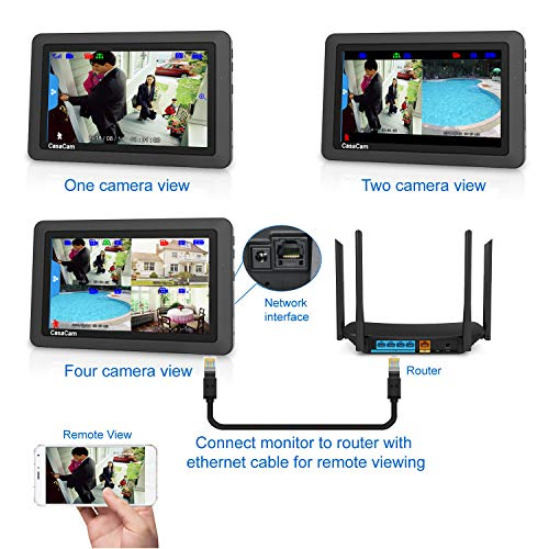 Casacam Vs1002 Wireless Security Camera System With Ac