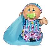 "Cabbage Patch Kids Naptime Babies 12.5"" Doll Blonde Girl Lavender Sleep Sack"