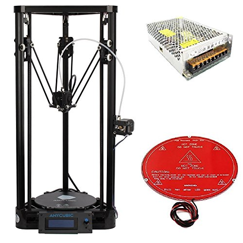 Anycubic-Pulley-Version-Unassemble-Delta-Rostock-3D-Printer-Kossel-Kit-Large-Print-Size-with-Heatbed-and-Power-Supply