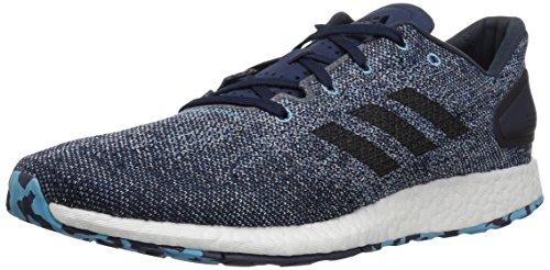 adidas Men's Pureboost DPR LTD, White/Black/Vapour Blue, 10 M US