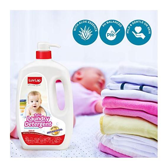 LuvLap Baby Liquid Laundry Detergent - 1000 ml
