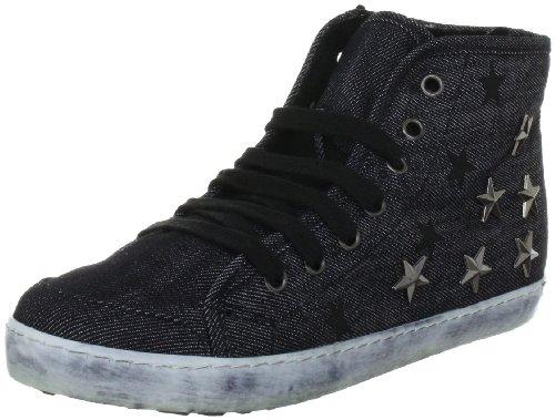 Colors of California HC.FSK06K Mädchen Sneaker Schwarz (Black)