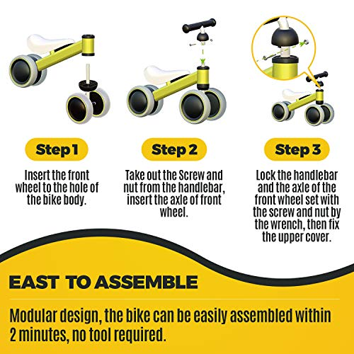 outdew-Baby-Balance-Bike-Bicycle-Ride-On-Toys-1-Y thumbnail 20