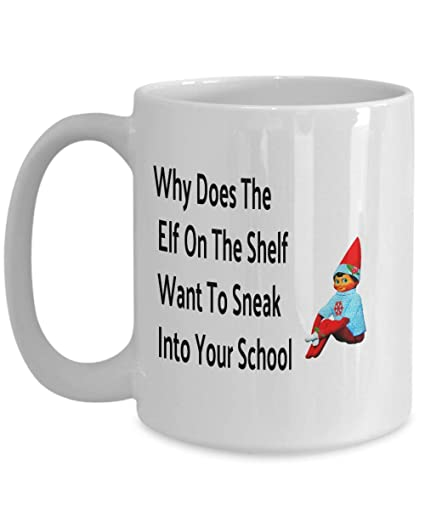 Amazon com: Why Does The Elf On The Shelf Want To Sneak Into