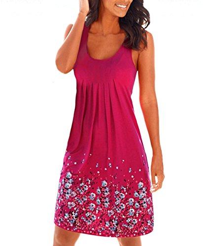 Yidarton Dresses Sleeveless Pleated Sundress product image