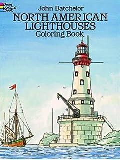North Carolina Lighthouses Coloring Book North Carolina