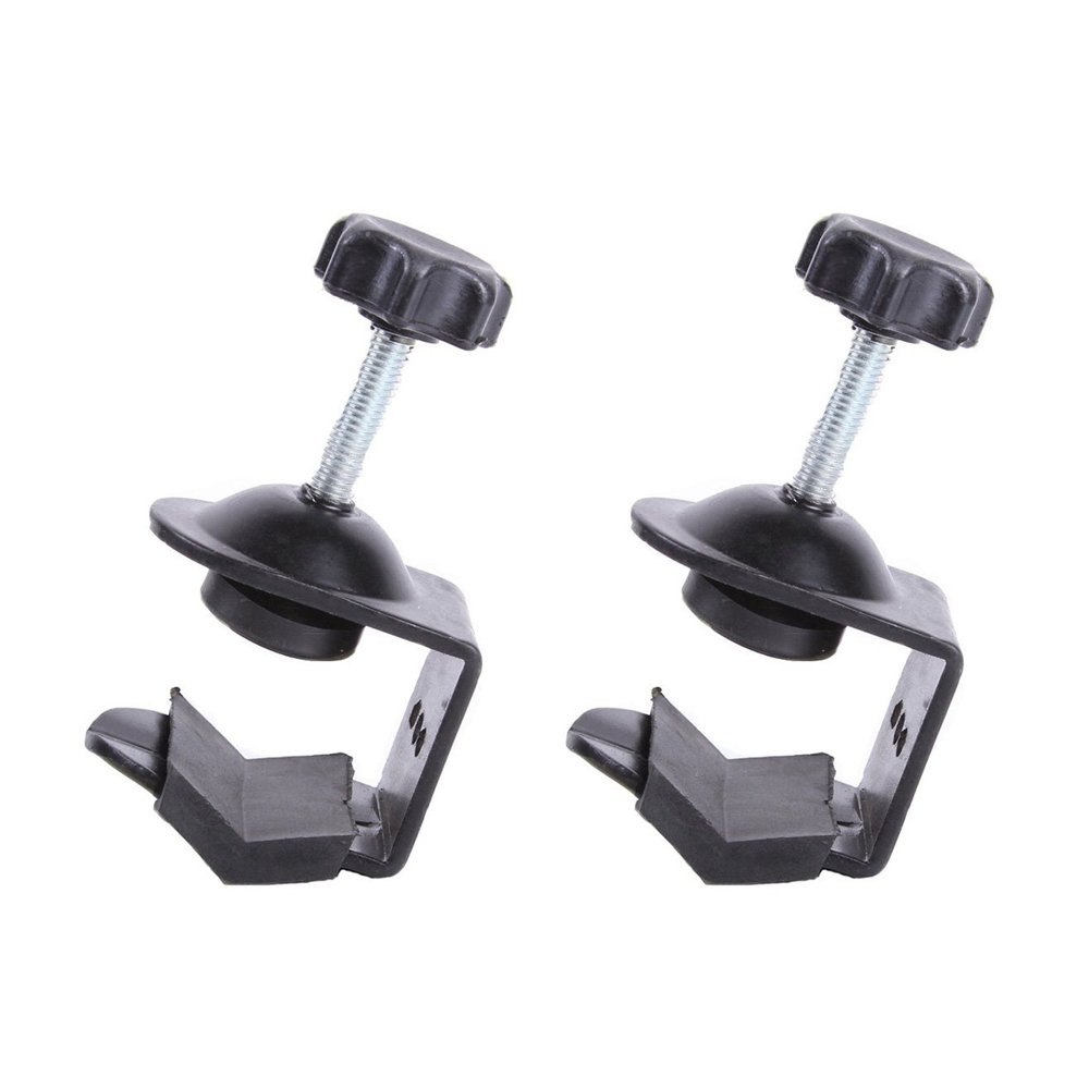 Gimiton C-Clamp Camera Mount Clamp Clip Aluminum Heavy Duty C Clamp U Clip Bracket for Photo Studio Light Stand Camera Flash (2-pack)