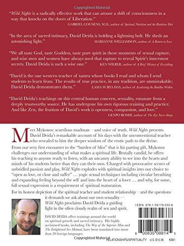 DAVID DEIDA WILD NIGHTS PDF