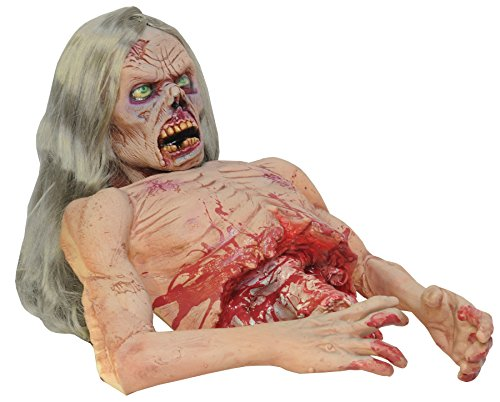 TWITCH ZOMBIE Animated Halloween Prop DISTURBING! New DU-2012 by Distortions