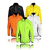 WOLFBIKE Cycling Jacket Jersey Long Sleeve Wind Coat, Color: Green, Size: S