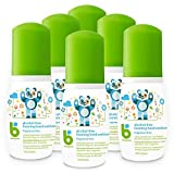 Product review for Babyganics Alcohol-Free Foaming Hand Sanitizer, Fragrance Free, On-The-Go, 50 ml (1.69-Ounce), Pump Bottle (Pack of 6)